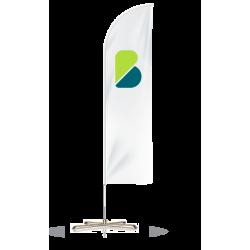Banderas publicitarias tipo vela