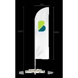 Medidas fly banner surf online